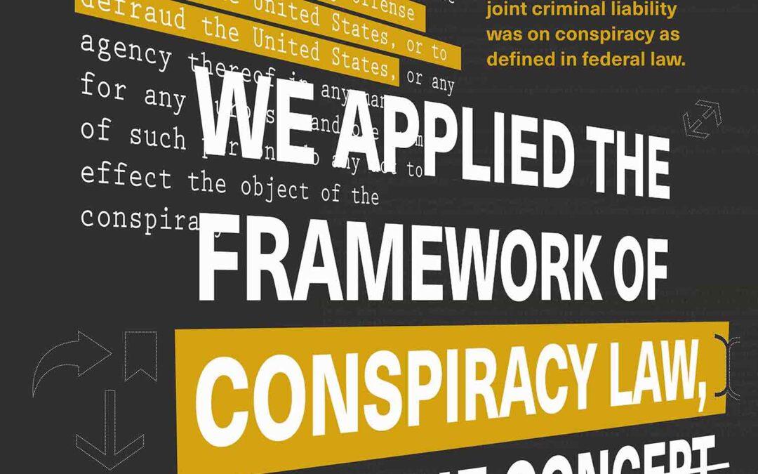 Conspiracy v. Collusion