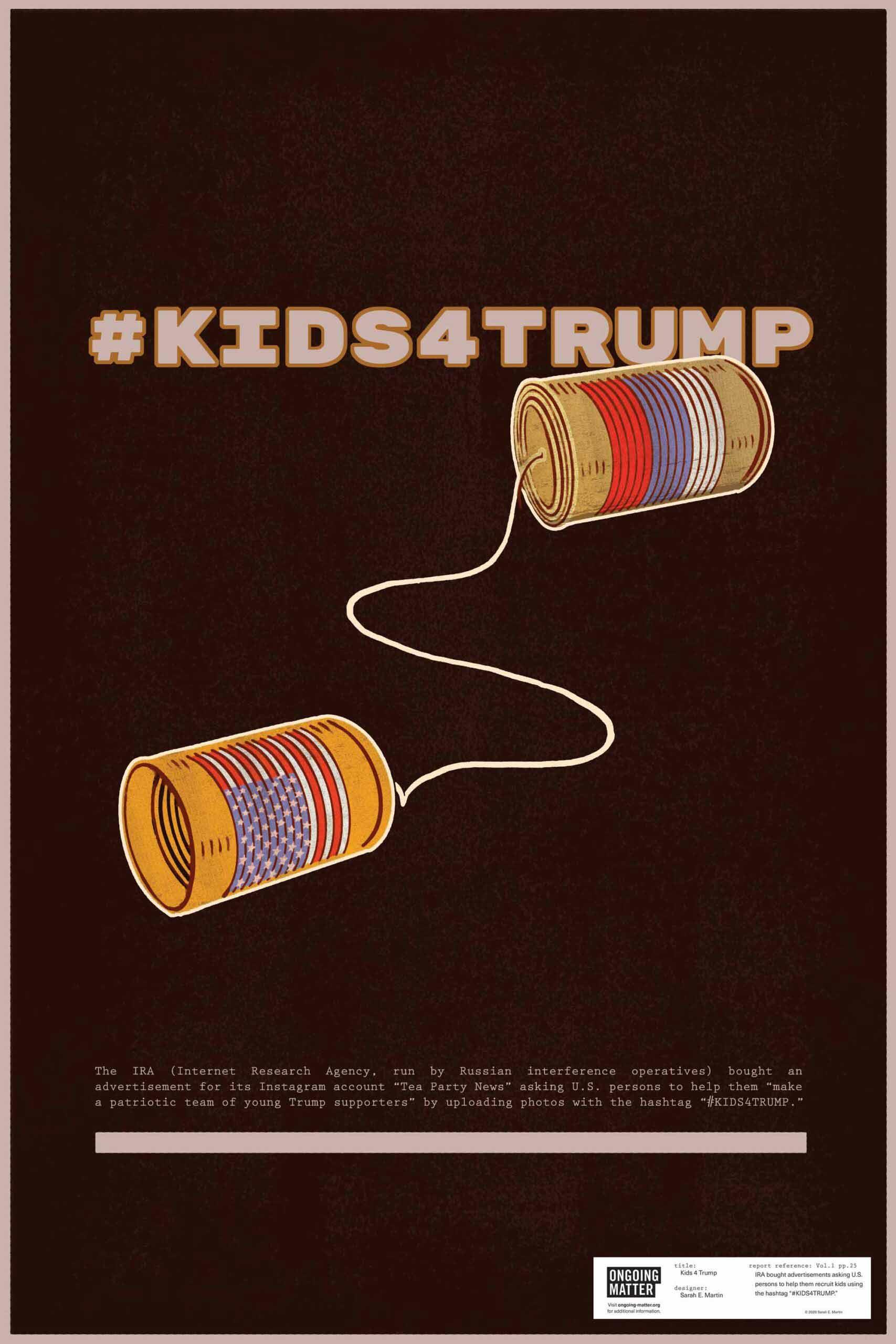 Kids 4 Trump by Sarah Martin